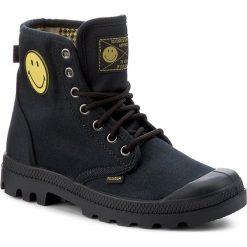 Trapery PALLADIUM - Pampa Fest Pack 75581-091-M Anthracite. Czarne buty zimowe damskie Palladium, z materiału. W wyprzedaży za 289,00 zł.