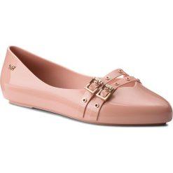 Baleriny ZAXY - Chic I Fem 82533 Pink 16332 BB285019 02064. Czerwone baleriny damskie Zaxy, z tworzywa sztucznego. W wyprzedaży za 149,00 zł.