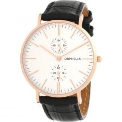 Zegarek kwarcowy w kolorze czarno-biało-różowozłotym. Czarne, analogowe zegarki męskie Esprit Watches, ze stali. W wyprzedaży za 227,95 zł.