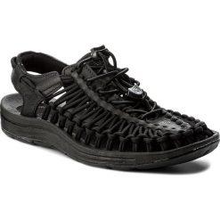 Sandały damskie: Sandały KEEN - Uneek Leather 1017063 Black/Raven