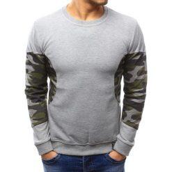 Swetry klasyczne męskie: Sweter męski szary (wx1037)