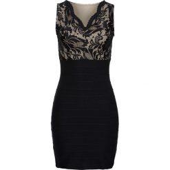 Sukienki hiszpanki: Sukienka z koronkową wstawką bonprix czarny