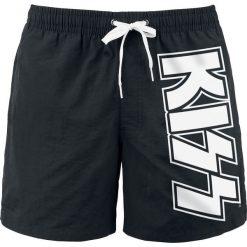 Kiss Logo Kąpielówki czarny. Czarne kąpielówki męskie marki Black Premium by EMP. Za 79,90 zł.
