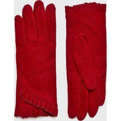 Medicine - Rękawiczki Hand Made. Czerwone rękawiczki damskie MEDICINE, z dzianiny. W wyprzedaży za 47,90 zł.