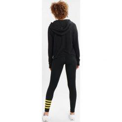Bluzy rozpinane damskie: Sundry STRIPES Bluza z kapturem black