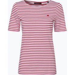 Marc O'Polo - T-shirt damski, czerwony. Szare t-shirty damskie marki U.S. Polo, l, z aplikacjami, z dzianiny, z okrągłym kołnierzem. Za 119,95 zł.