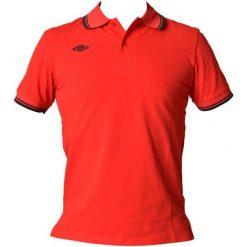 Umbro Koszulka Polo True Red/Dress Blue S. Brązowe koszulki polo marki Umbro, m, z bawełny. W wyprzedaży za 39,00 zł.