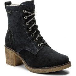 Botki LASOCKI - 7440-03 Granatowy. Niebieskie buty zimowe damskie Lasocki, ze skóry, na obcasie. W wyprzedaży za 174,99 zł.