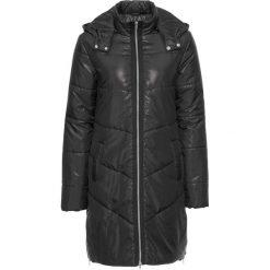 Płaszcze damskie pastelowe: Płaszcz pikowany bonprix czarny