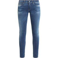 Replay LUZ PANTS Jeans Skinny Fit blue denim. Niebieskie jeansy damskie relaxed fit marki Replay. Za 659,00 zł.
