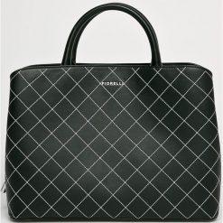 Fiorelli - Torebka. Brązowe torebki klasyczne damskie marki Fiorelli, w paski, z materiału, średnie. W wyprzedaży za 269,90 zł.