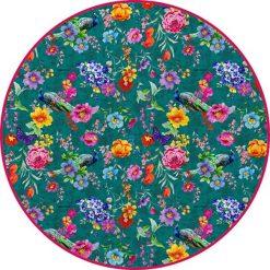 """Kąpielówki męskie: Ręcznik plażowy """"Trisia"""" z kolorowym wzorem"""
