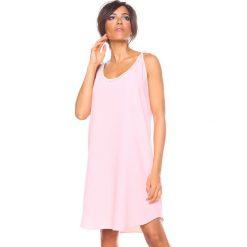 """Sukienki hiszpanki: Sukienka """"Kia"""" w kolorze jasnoróżowym"""