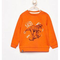 Odzież dziecięca: Bluza z nadrukiem - Pomarańczo