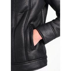 New Look SHEARLING WESTERN Kurtka ze skóry ekologicznej black. Czarne kurtki męskie bomber New Look, m, z materiału. Za 359,00 zł.