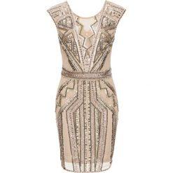 Sukienki: Sukienka z aplikacją bonprix kremowy