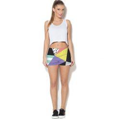 Colour Pleasure Spodnie damskie CP-020 24 czarno-zółte r. XL/XXL. Czarne spodnie sportowe damskie Colour pleasure, xl. Za 72,34 zł.