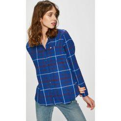 Lee - Koszula. Szare koszule damskie w kratkę Lee, l, z bawełny, casualowe, z klasycznym kołnierzykiem, z długim rękawem. Za 199,90 zł.