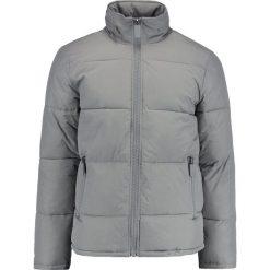 Topman CRINKLE REX Kurtka zimowa light grey. Szare kurtki męskie bomber Topman, na zimę, m, z materiału. Za 399,00 zł.