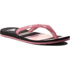 Japonki adidas - Eezay Flip Flop B43550 Tramar/Cleora/Cblack. Czarne crocsy damskie marki Adidas, z kauczuku. Za 79,95 zł.