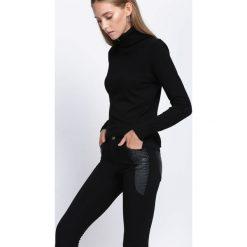 Spodnie damskie: Czarne Spodnie My Memory