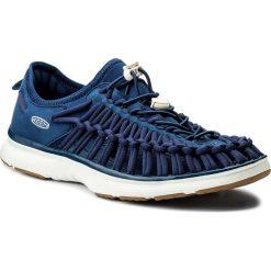Sandały KEEN - Uneek O2 1018715 Estate Blue/ Harvest Gold. Niebieskie sandały męskie marki Keen, z materiału. W wyprzedaży za 259,00 zł.