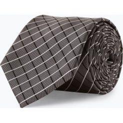 Mc Earl - Męski krawat z jedwabiu, szary. Szare krawaty męskie Mc Earl, z jedwabiu, eleganckie. Za 99,95 zł.