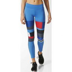 Adidas Legginsy WOW Drop 2 Tight niebieskie r. L (AP9528). Niebieskie legginsy sportowe damskie marki Adidas, l. Za 206,20 zł.