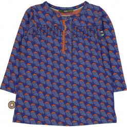 """Bluzka """"Clouds Across The Moon"""" w kolorze pomarańczowo-fioletowym. Brązowe bluzki dziewczęce marki 4FunkyFlavours Kids, z okrągłym kołnierzem. W wyprzedaży za 82,95 zł."""