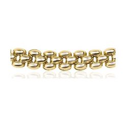 Naszyjnik - złoto żółte 585. Szare naszyjniki męskie marki Reserved, srebrne. Za 3490,00 zł.