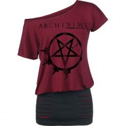 Arch Enemy Pure Fucking Metal Sukienka czerwony/czarmy. Czerwone sukienki Arch Enemy, xl, z bawełny. Za 121,90 zł.