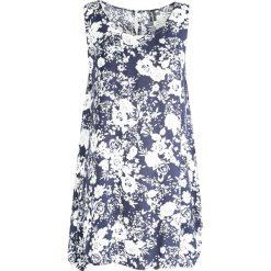 Sukienki: Niebiesko-Biała Sukienka Bird Of Paradise