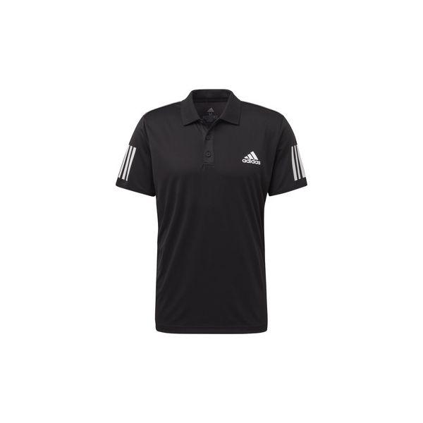1ca14c706b8518 Koszulki polo z krótkim rękawem adidas Koszulka polo 3-Stripes Club -  Czarne koszulki męskie Adidas, s, bez wzorów, z krótkim rękawem. Za 179,00  zł.
