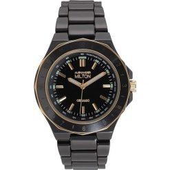 """Zegarki męskie: Zegarek kwarcowy """"Keren"""" w kolorze czarno-złotym"""