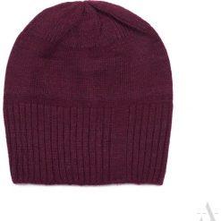 Czapka damska Simple & cozy bordowa. Czerwone czapki zimowe damskie Art of Polo. Za 42,47 zł.