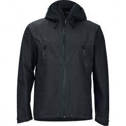 """Kurtka funkcyjna """"Knife"""" w kolorze czarnym. Czarne kurtki męskie skórzane marki Marmot, m. W wyprzedaży za 591,95 zł."""