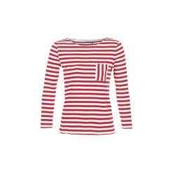 T-shirty z długim rękawem Petit Bateau  DOURU. Czerwone t-shirty damskie Petit Bateau, m. Za 143,20 zł.