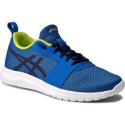 Buty sportowe damskie: Buty ASICS - Kanmei Gs C745N Directoire Blue/Peacoat/Energy Green 4358
