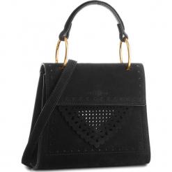 Torebka COCCINELLE - C10 B14 Lace Suede E1 C10 55 77 01 Noir 001. Czarne torebki klasyczne damskie Coccinelle, ze skóry. Za 1299,90 zł.