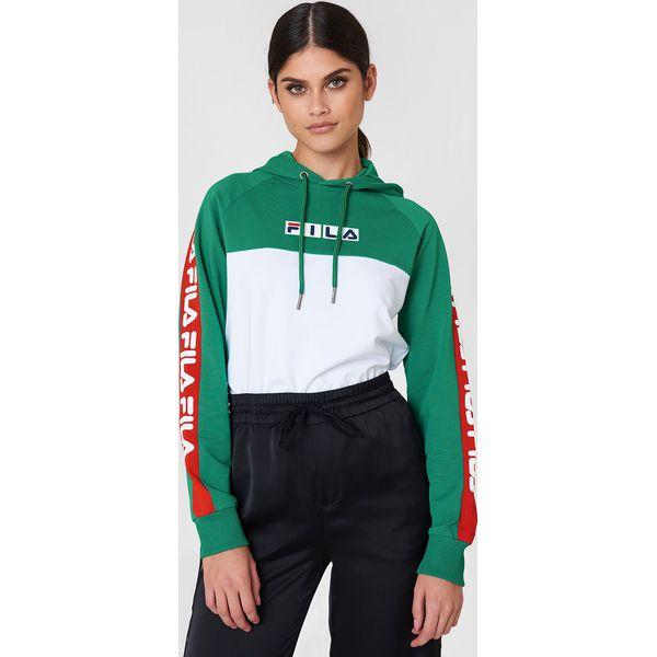 dobrze out x nowy styl o rozsądnej cenie FILA Bluza z kapturem Chelsea - Green,Multicolor