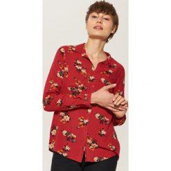 Koszula z wiskozy - Czerwony. Czerwone koszule damskie House, l, z wiskozy. W wyprzedaży za 29,99 zł.