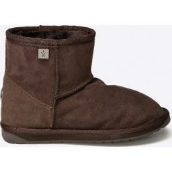 Emu Australia - Botki Platinum Stinger Mini. Brązowe buty zimowe damskie marki NEWFEEL, z gumy. Za 679,90 zł.