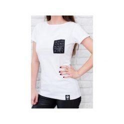 T-shirt 3D(lux) pocket - biała. Białe t-shirty damskie Desert snow, m, z bawełny. Za 69,00 zł.