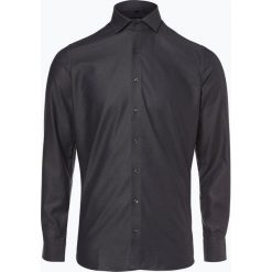 Olymp Level Five - Koszula męska łatwa w prasowaniu, czarny. Czarne koszule męskie na spinki OLYMP Level Five, m, w kropki. Za 249,95 zł.