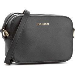 Torebka EVA MINGE - Evita 2A 17NB1372165EF 901. Czarne listonoszki damskie Eva Minge, ze skóry ekologicznej. W wyprzedaży za 169,00 zł.