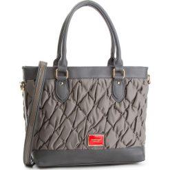 Torebka MONNARI - BAGB290-019 Grey. Brązowe torebki klasyczne damskie marki Monnari, w paski, z materiału, średnie. W wyprzedaży za 199,00 zł.