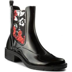 Buty zimowe damskie: Kalosze DESIGUAL - Mid Rain Boot 17WSAPB9 Czarny