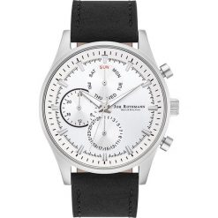 """Zegarki męskie: Zegarek kwarcowy """"Ansgar"""" w kolorze czarno-srebrno-białym"""