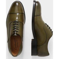 Buty wizytowe męskie: Cordwainer ASIER  Eleganckie buty elba green