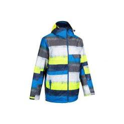 Kurtka narciarska męska FREE 300. Żółte kurtki męskie marki ATORKA, xs, z elastanu. Za 179,99 zł.